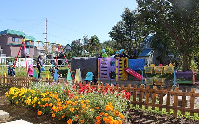 幼稚園の環境